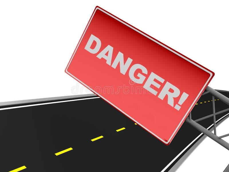 Download Danger sign stock illustration. Illustration of travel - 15967483