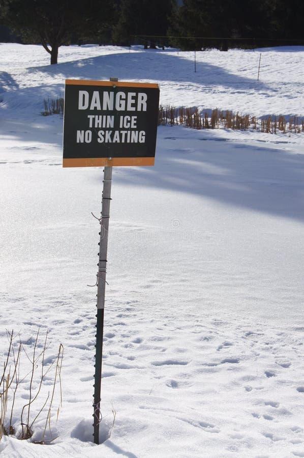 Download Danger Sign stock image. Image of frozen, winter, emergency - 24291053