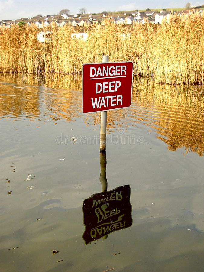 Download Danger Sign stock photo. Image of village, nature, signs - 48422