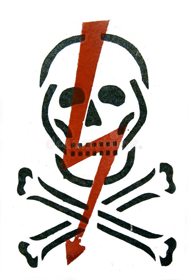 Download Danger sign stock photo. Image of illustrated, hazardous - 5788018