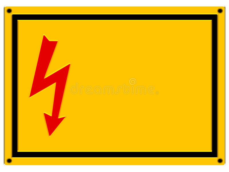 Download Danger Sign - Relief Royalty Free Stock Image - Image: 2398396