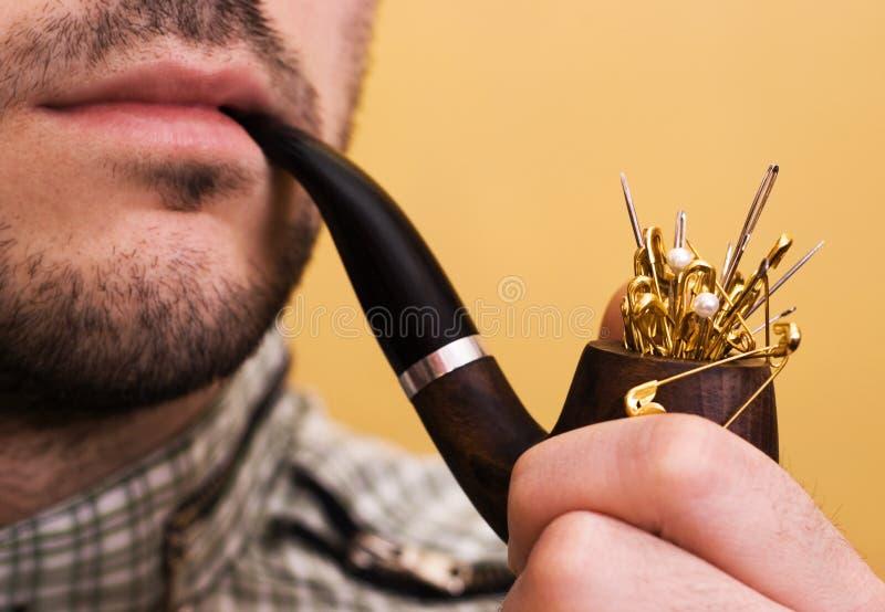 Danger Of Smoking Concept Royalty Free Stock Image