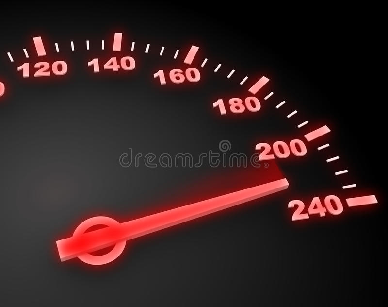 Danger speed royalty free illustration