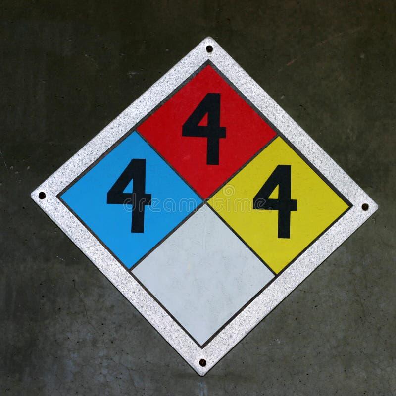Danger Square stock image
