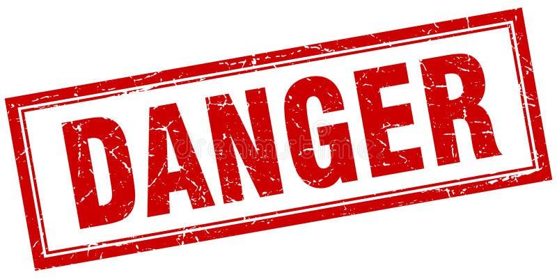 danger stamp vector illustration