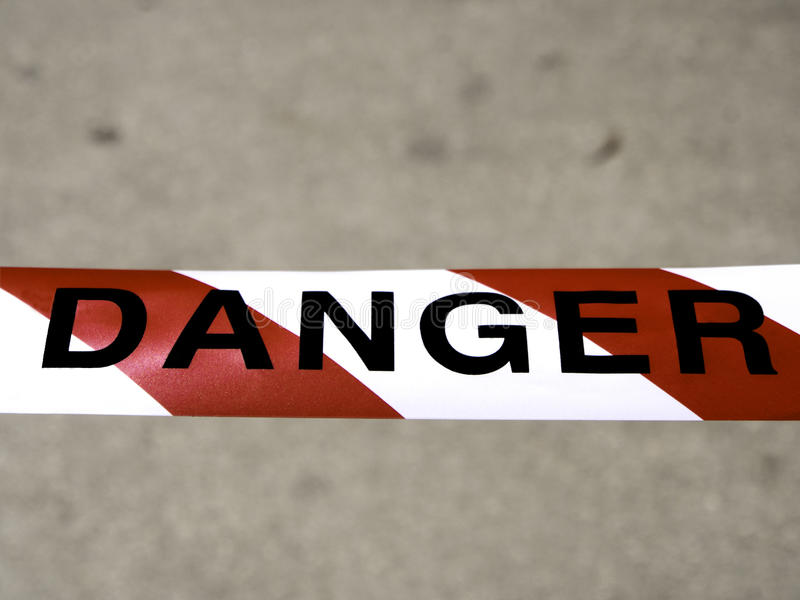 Download Danger tape stock image. Image of signage, safety, signs - 28799667