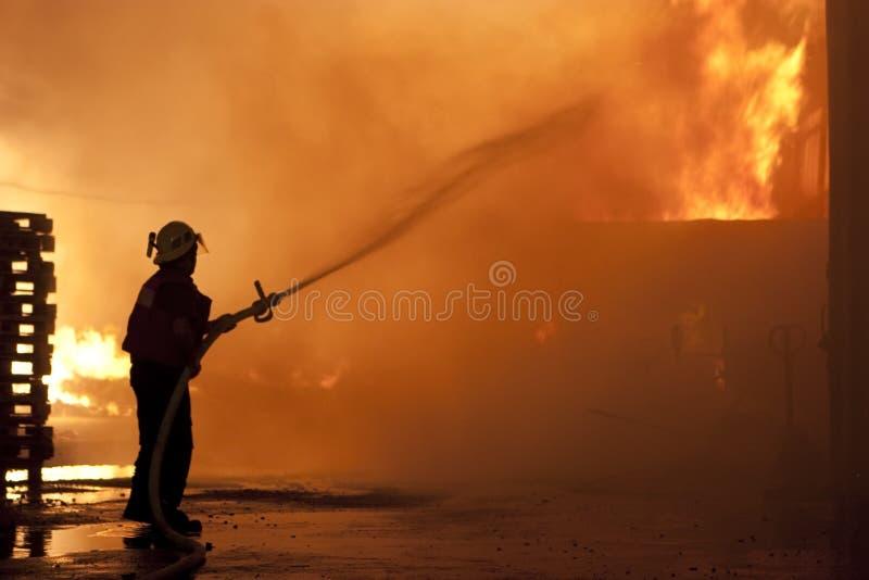 Download Danger work stock image. Image of natural, built, burn - 13754839