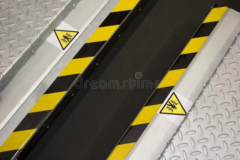 Download Danger Zone stock image. Image of detail, iron, press - 8838613