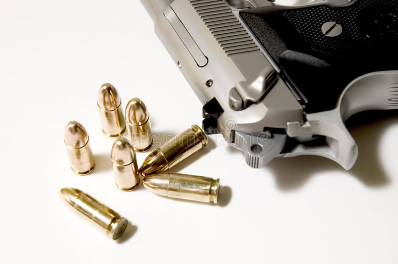 Download Dangerous stock photo. Image of arsenal, bullets, iron - 179434