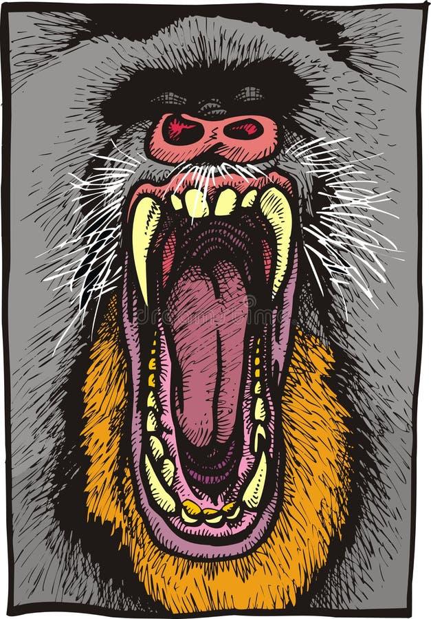 Free Dangerous Baboon Animal Royalty Free Stock Photography - 69836967