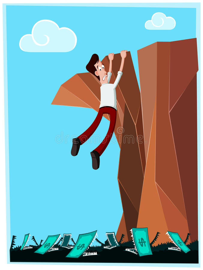 Download Dangerous cliff stock image. Image of fail, risky, frustrated - 30574757