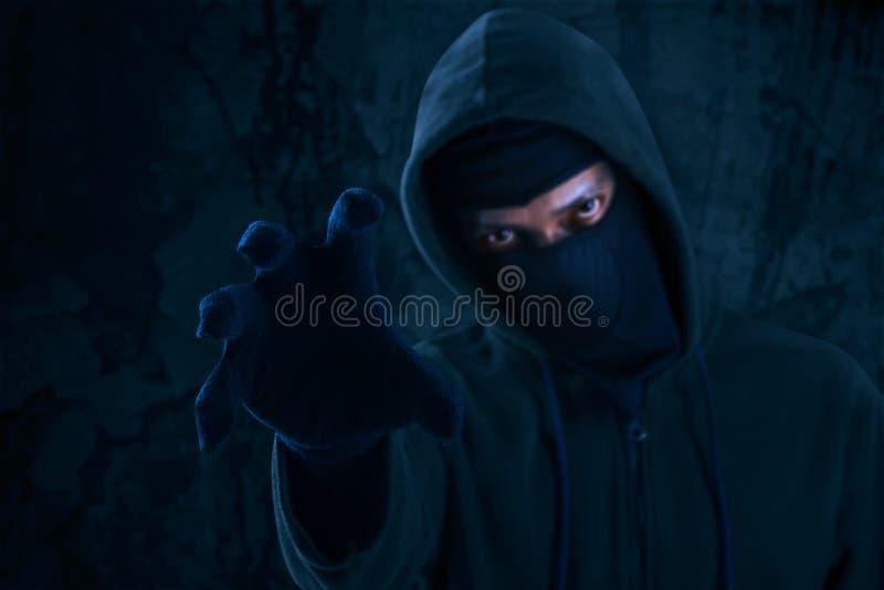 Download Dangerous killer stock photo. Image of hacker, convict - 43138414