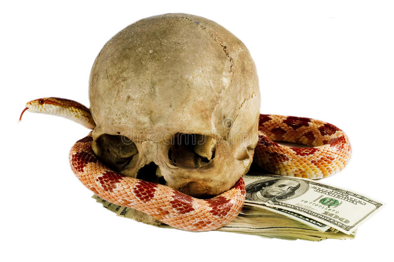 Download Dangerous Money. Royalty Free Stock Image - Image: 12128576