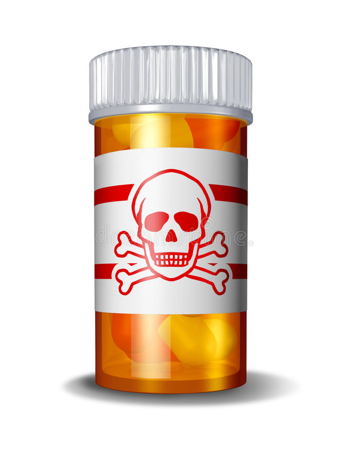 Download Dangerous Prescriptions stock illustration. Image of bottle - 22694600
