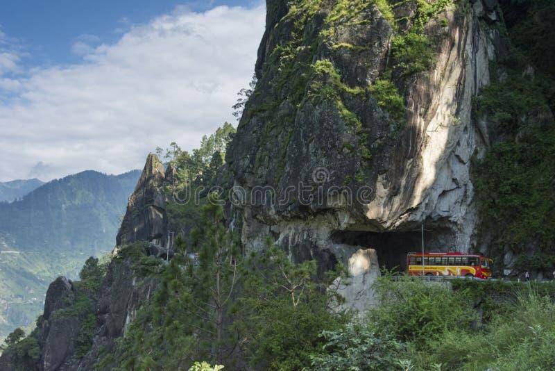 Dangerous Roads of Kinnaur in Himachal Pradesh,India royalty free stock photos