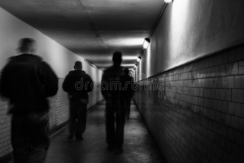Dangerous street. Street photo of dangerous place royalty free stock images