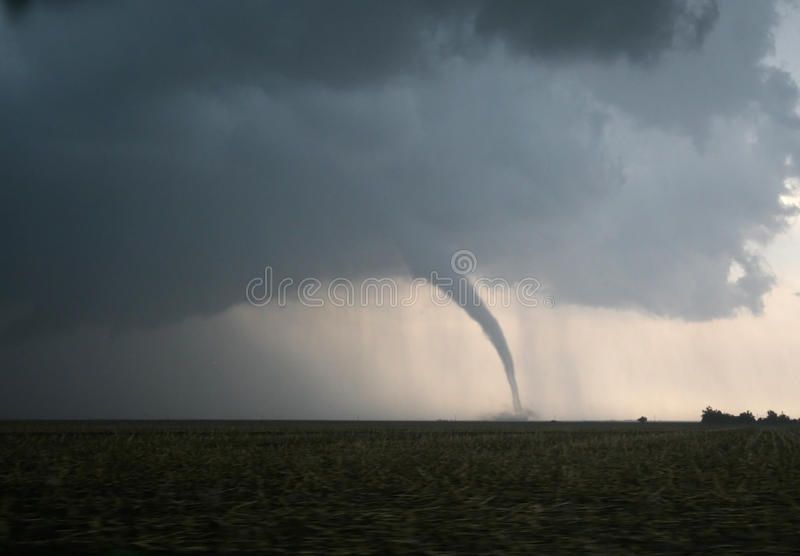 Download Dangerous Tornado On The Plains Stock Image - Image: 18640625
