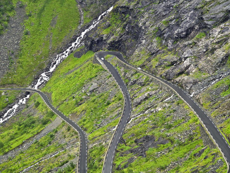 Download Dangerous wet road stock image. Image of landscape, darkness - 11025387