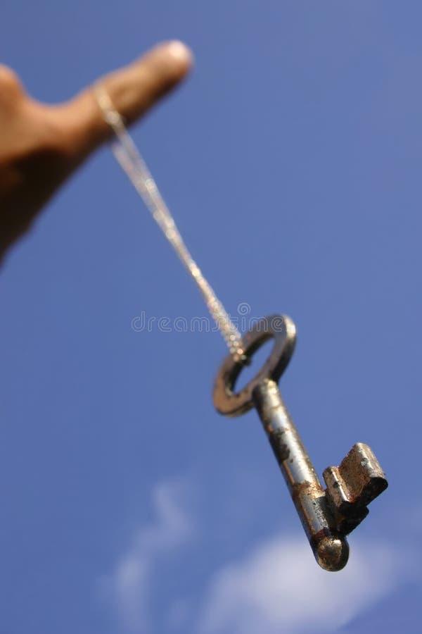 Free Dangling Key Royalty Free Stock Photos - 181898