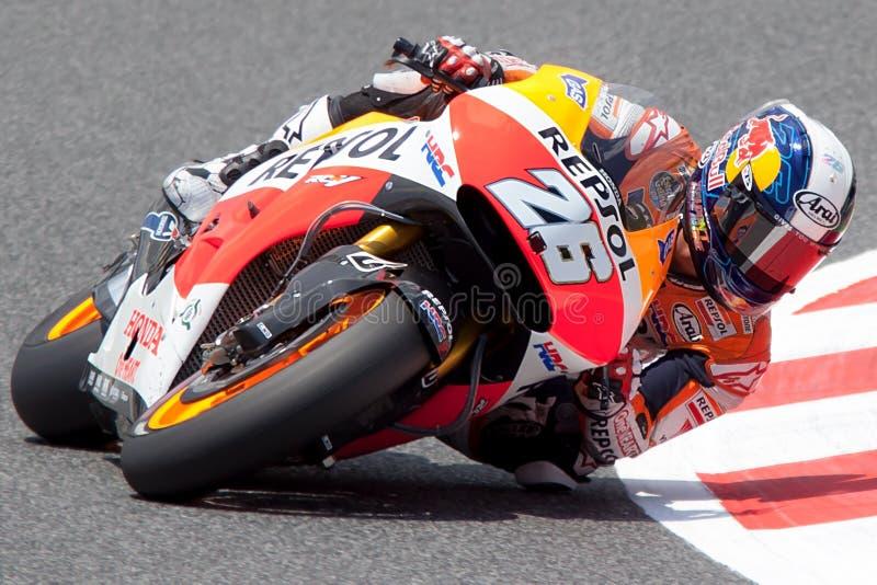 Dani Pedrosa Энергия Grand Prix изверга Catalunya MotoGP стоковое фото