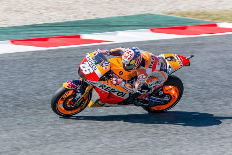 Dani Pedrosa bei Monster-Energie 2016 MotoGP von Catalunya in Barcelona umkreisen am 3. Juni 2016 stockfotografie