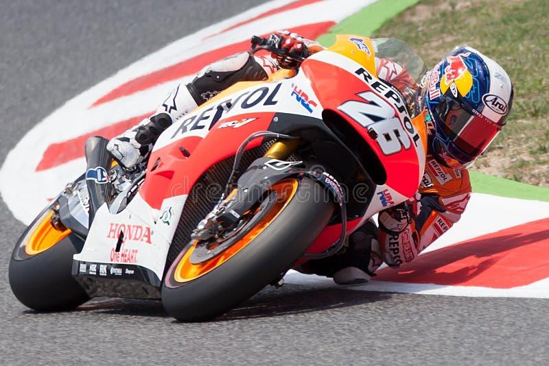 Dani Pedrosa Energía Grand Prix del monstruo de Catalunya MotoGP fotografía de archivo