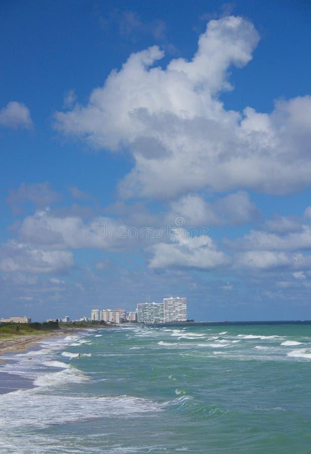 Dania海滩,佛罗里达 库存照片