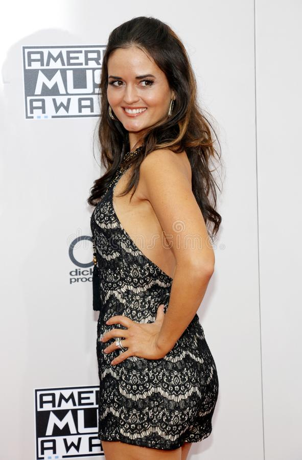 Danica McKellar. At the 2016 American Music Awards held at the Microsoft Theater in Los Angeles, USA on November 20, 2016 stock image