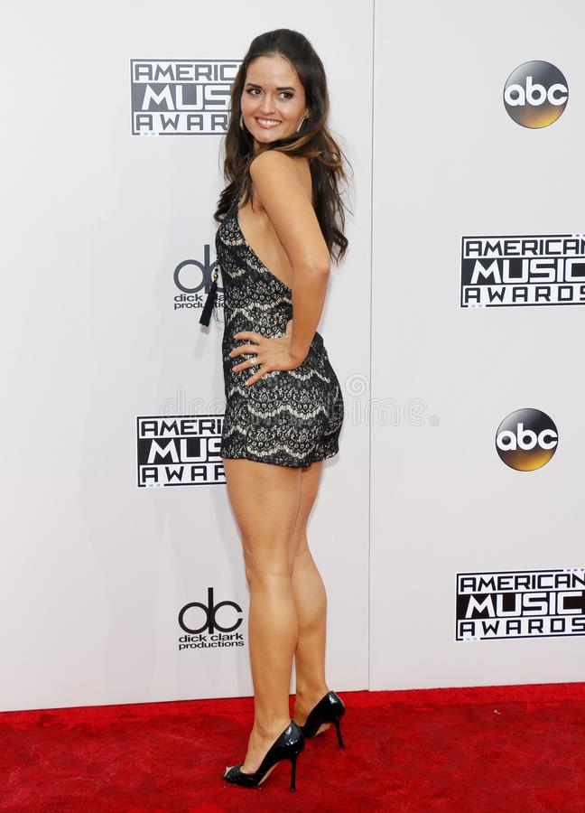 Danica McKellar. At the 2016 American Music Awards held at the Microsoft Theater in Los Angeles, USA on November 20, 2016 stock images