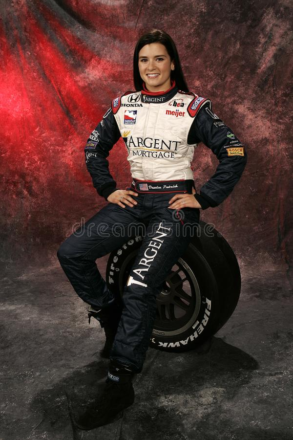 Danica Patrick at IRL Media Day royalty free stock photography
