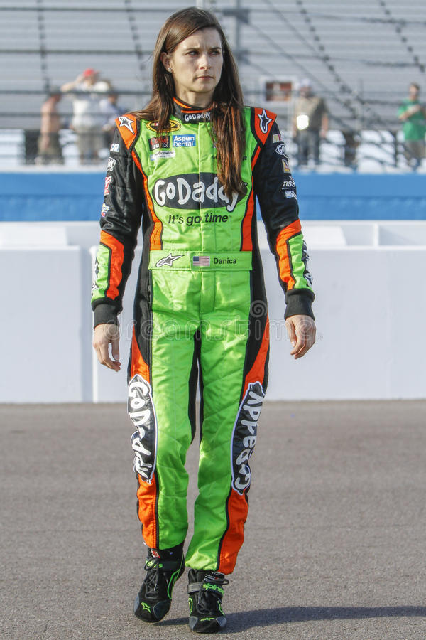 Danica Patrick. NASCAR race car driver Danica Patrick royalty free stock photos
