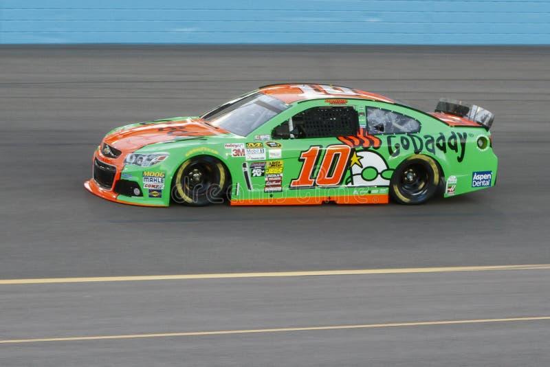 Danica Patrick. NASCAR Sprint Cup driver Danica Patrick on track stock images