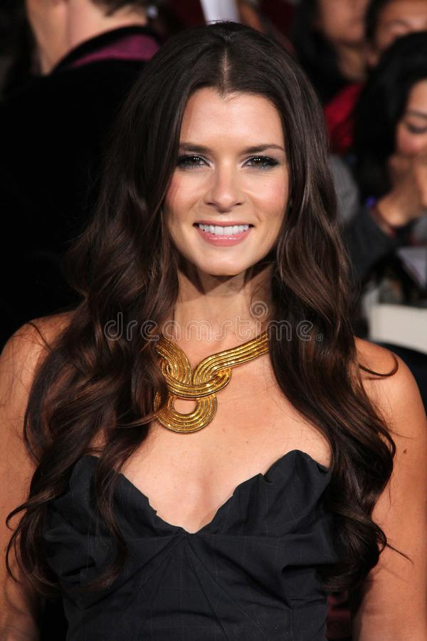 Danica Patrick. At 'The Twilight Saga: Breaking Dawn - Part 1' Los Angeles Premiere, Nokia Theatre L.A. Live, Los Angeles, CA 11-14-11 royalty free stock images