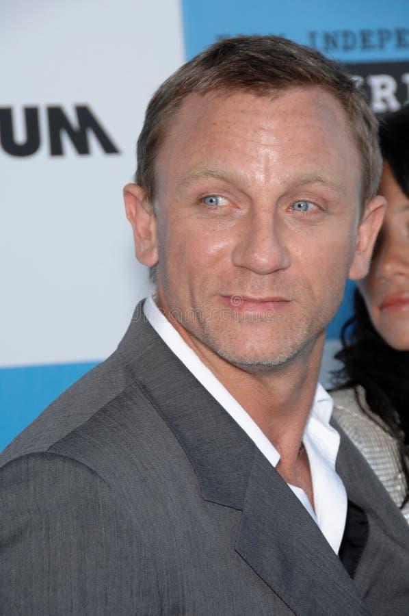 Daniel Craig fotografia de stock royalty free