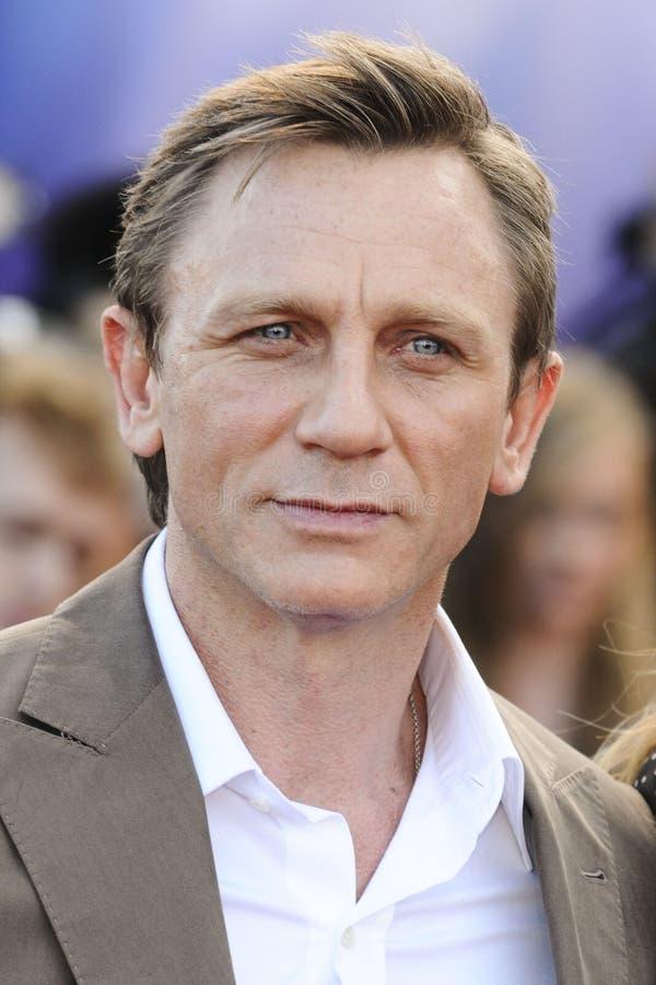 Daniel Craig imágenes de archivo libres de regalías