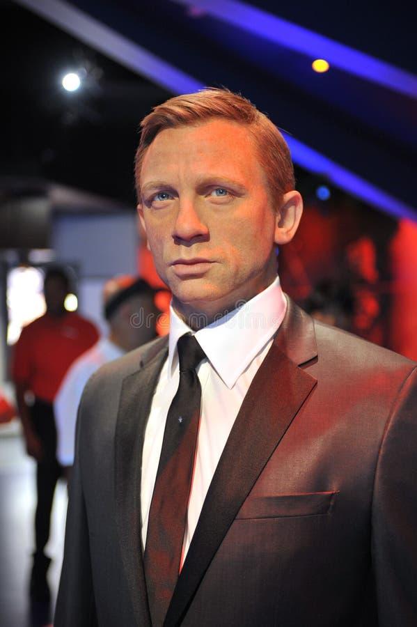 Daniel Craig stock foto
