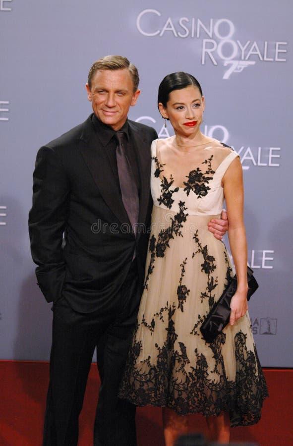 Daniel Craig with girlfriend Satsuki Mitchell