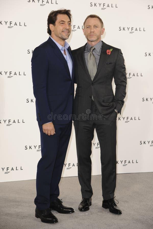 Download Daniel Craig, Javier Bardem, James Bond Editorial Image - Image: 22873710