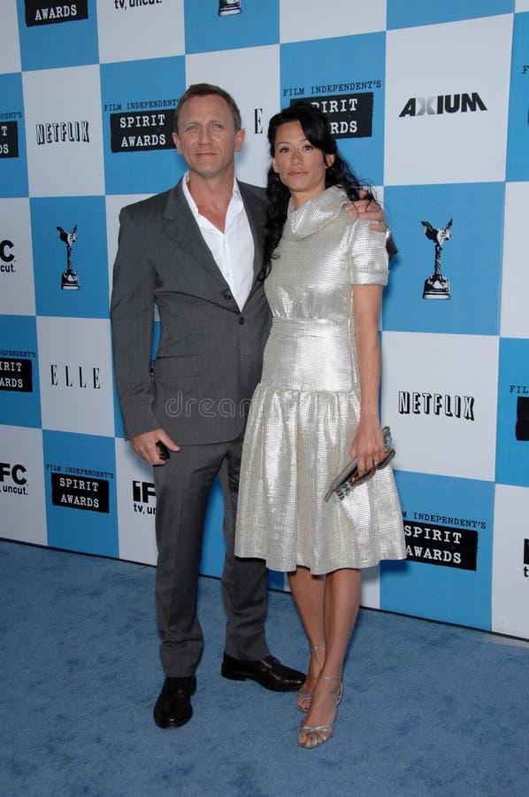 Daniel Craig, Satsuki Mitchell foto de stock royalty free