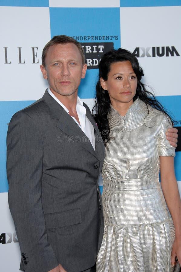 Daniel Craig, Satsuki Mitchell imagem de stock