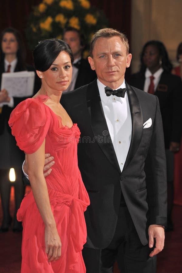 Daniel Craig, Satsuki Mitchell fotos de stock