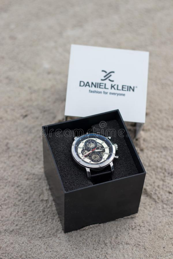 Daniel Klein Mens Watch fotografie stock