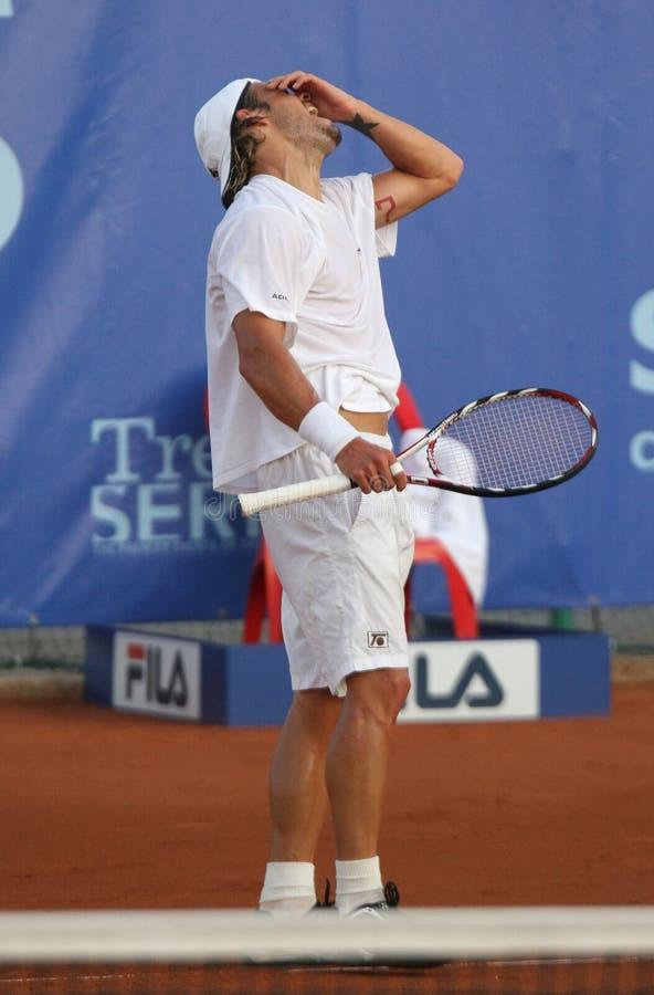 DANIEL KOELLERER, ATP TENNIS PLAYER royalty free stock images