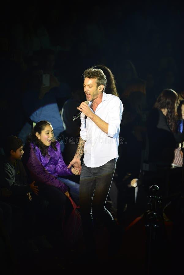 Daniel Niv Muki (chanteur) image libre de droits