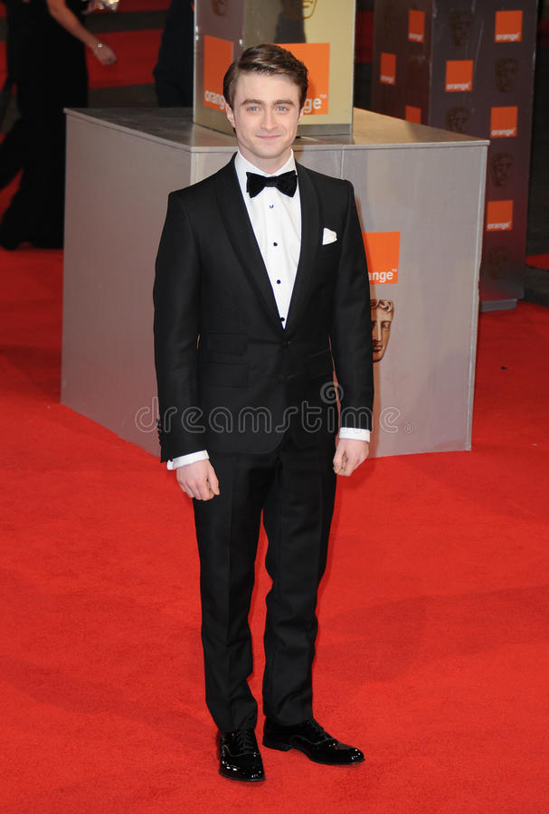 Daniel Radcliff. Attends the Orange British Academy Film Awards 2012 at the Royal Opera House. February 12, 2012, London, UK Picture: Catchlight Media / stock images
