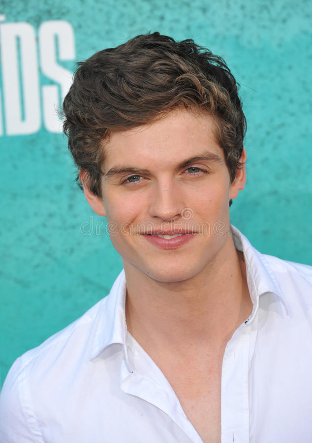 Daniel Sharman. At the 2012 MTV Movie Awards at Universal Studios, Hollywood. June 4, 2012 Los Angeles, CA Picture: Paul Smith / Featureflash royalty free stock images