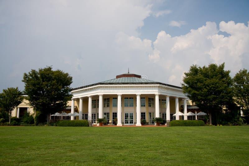 Daniel Stowe Visitor Pavilion stock afbeelding