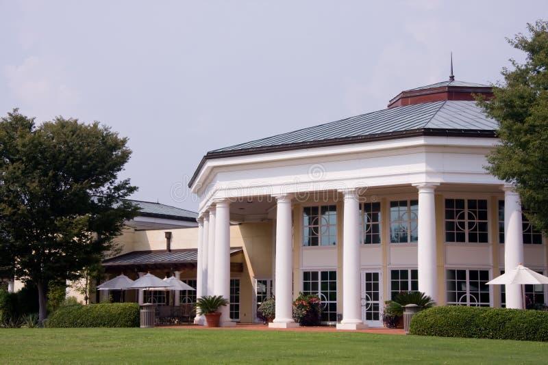 Daniel Stowe Visitor Pavilion stock foto