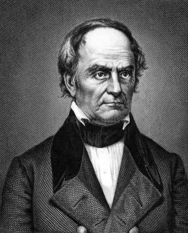 Daniel Webster fotografia stock libera da diritti