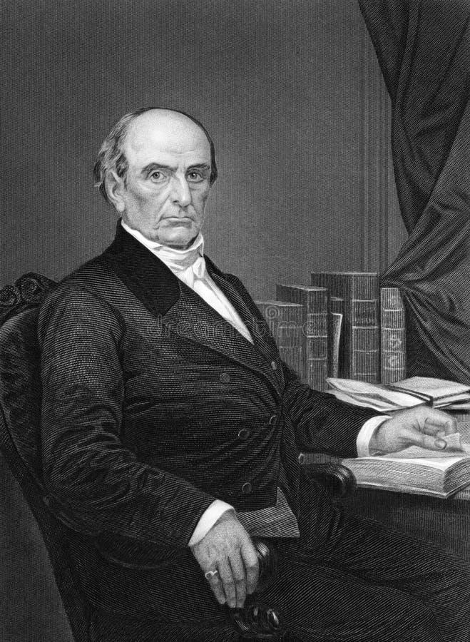 Daniel Webster imagem de stock royalty free